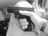 gun,pistol,weapon,hand,sig sauer,scare,trigger,finger